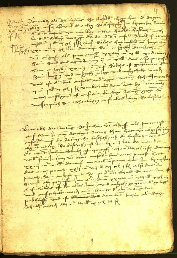 Civic Archives of Bozen-Bolzano - BOhisto Minutes of the council 1470