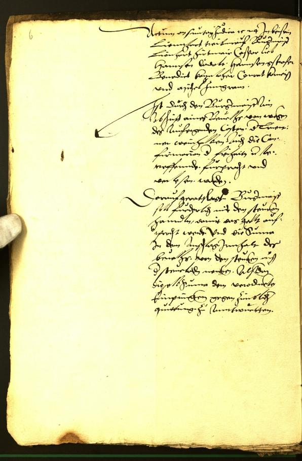 Stadtarchiv Bozen - BOhisto Ratsprotokoll 1524/26