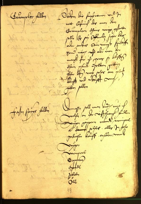 Archivio Storico della Città di Bolzano - BOhisto protocollo consiliare 1528