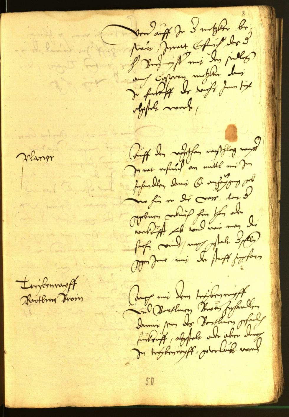 Civic Archives of Bozen-Bolzano - BOhisto Minutes of the council 1528