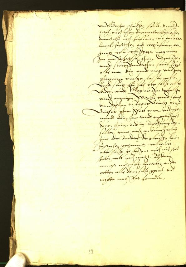 Civic Archives of Bozen-Bolzano - BOhisto Minutes of the council 1529