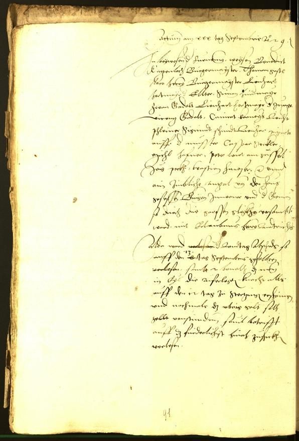 Archivio Storico della Città di Bolzano - BOhisto protocollo consiliare 1529