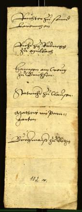 Civic Archives of Bozen-Bolzano - BOhisto Minutes of the council 1529 -
