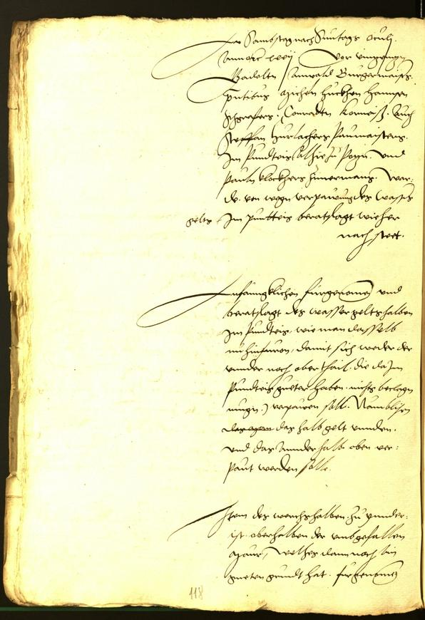Civic Archives of Bozen-Bolzano - BOhisto Minutes of the council 1532