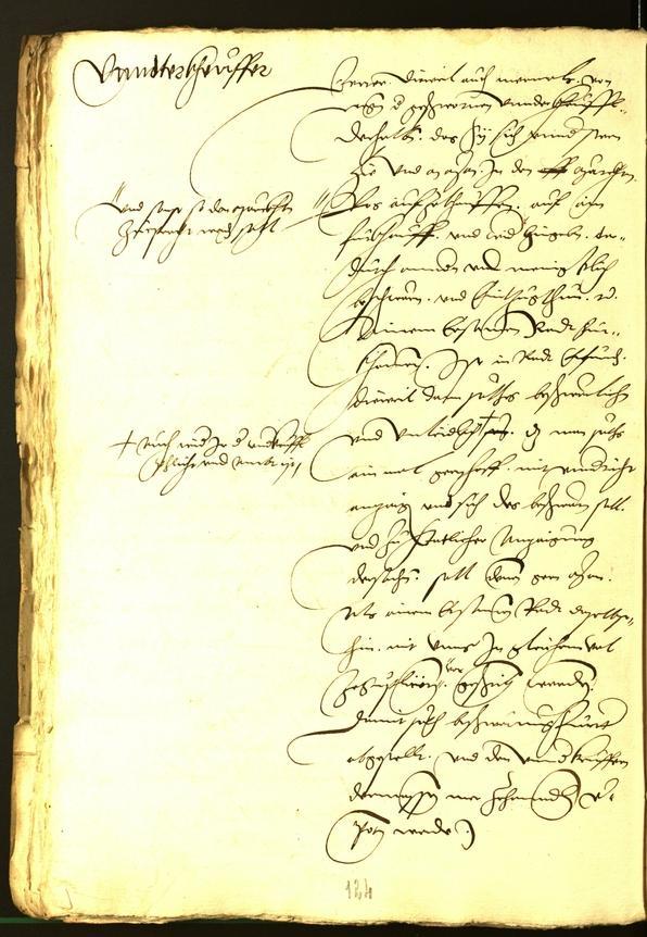 Stadtarchiv Bozen - BOhisto Ratsprotokoll 1532