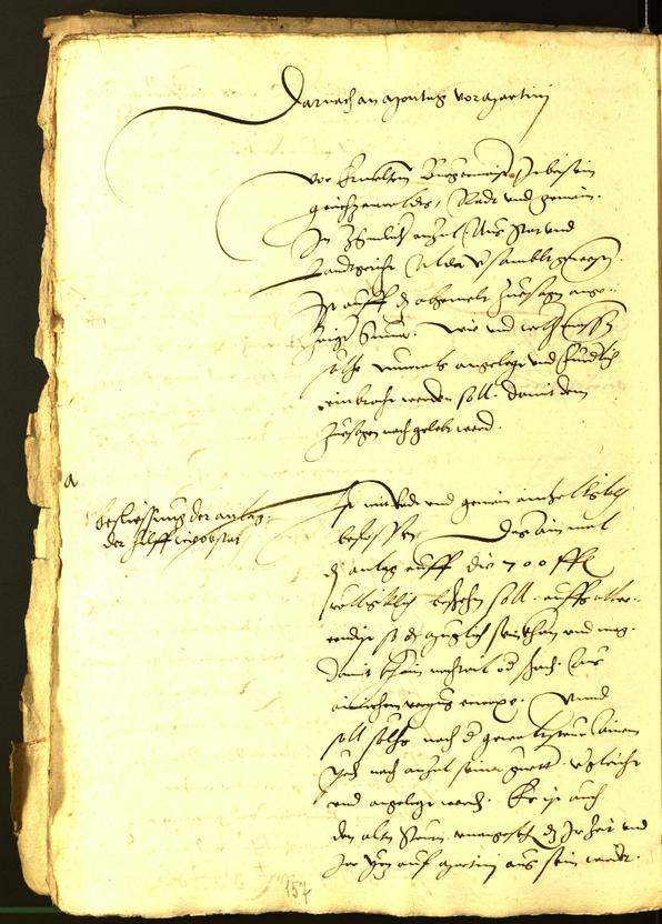 Stadtarchiv Bozen - BOhisto Ratsprotokoll 1533