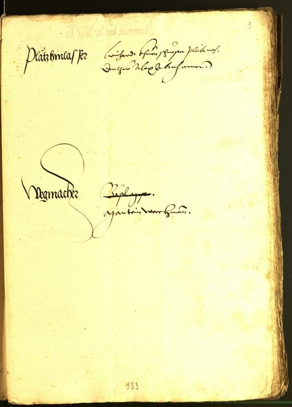 Civic Archives of Bozen-Bolzano - BOhisto Minutes of the council 1533