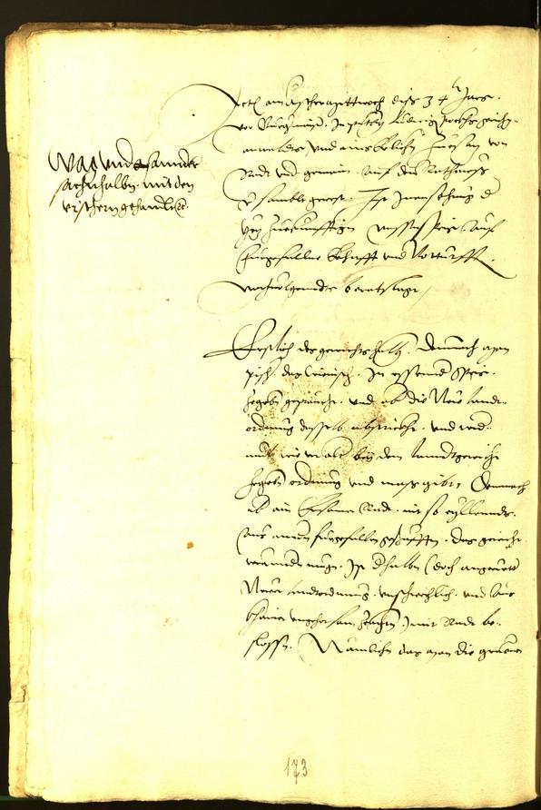 Archivio Storico della Città di Bolzano - BOhisto protocollo consiliare 1534