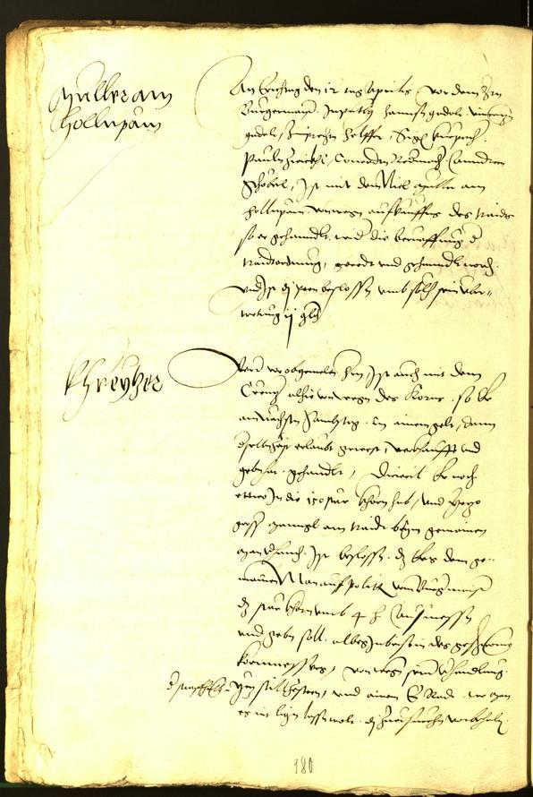 Civic Archives of Bozen-Bolzano - BOhisto Minutes of the council 1534