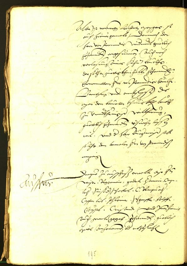 Civic Archives of Bozen-Bolzano - BOhisto Minutes of the council 1534