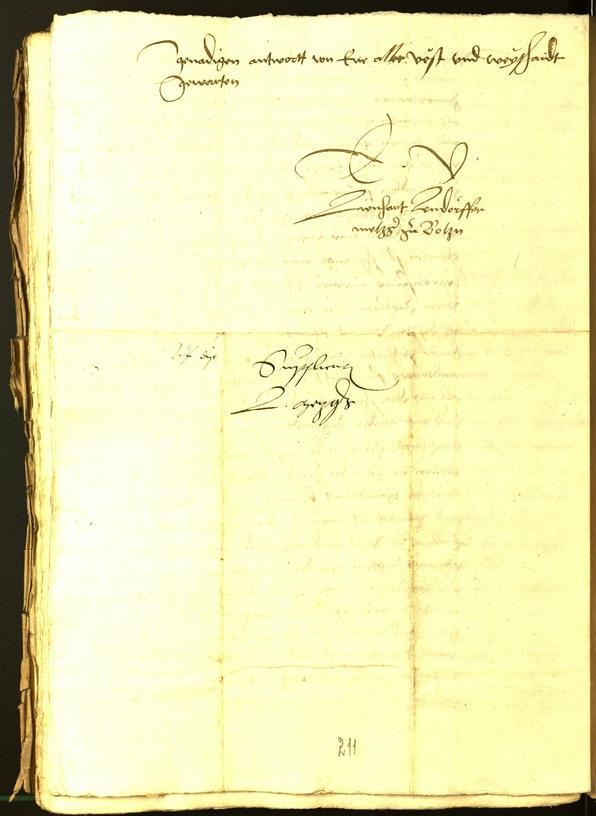 Stadtarchiv Bozen - BOhisto Ratsprotokoll 1534
