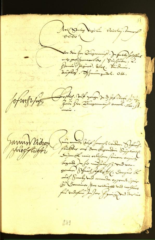Archivio Storico della Città di Bolzano - BOhisto protocollo consiliare 1535