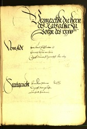 Civic Archives of Bozen-Bolzano - BOhisto Minutes of the council 1535 -
