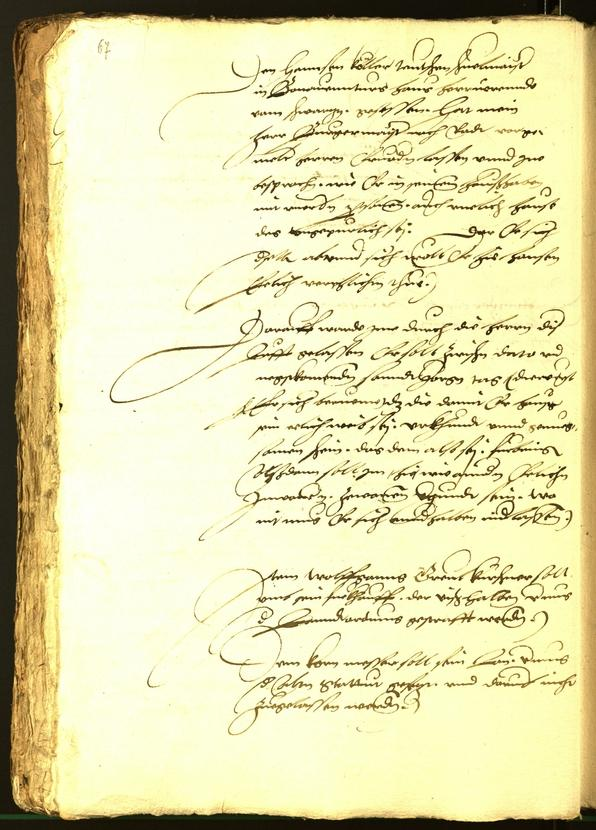 Civic Archives of Bozen-Bolzano - BOhisto Minutes of the council 1536