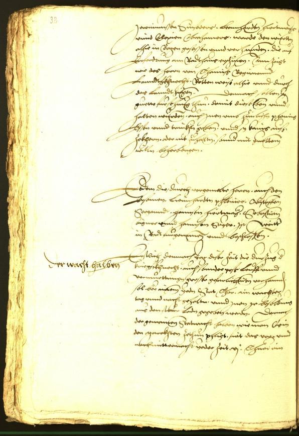 Stadtarchiv Bozen - BOhisto Ratsprotokoll 1536