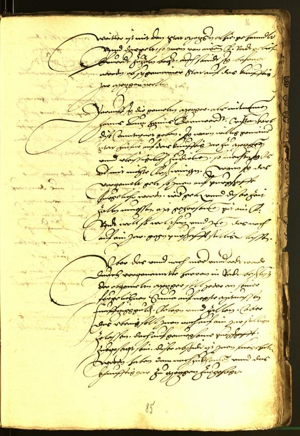 Stadtarchiv Bozen - BOhisto Ratsprotokoll 1537
