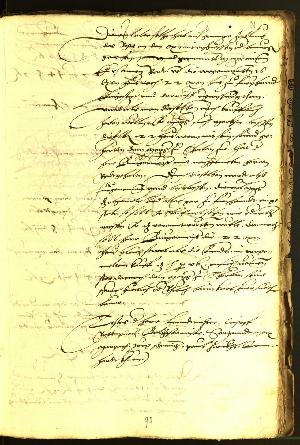 Civic Archives of Bozen-Bolzano - BOhisto Minutes of the council 1537