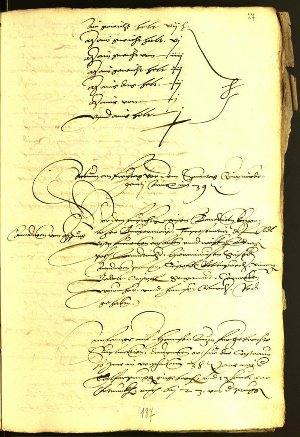 Civic Archives of Bozen-Bolzano - BOhisto Minutes of the council 1539