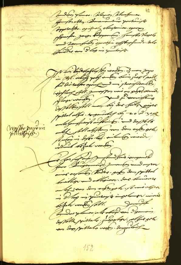 Civic Archives of Bozen-Bolzano - BOhisto Minutes of the council 1539