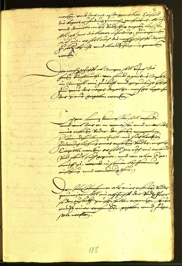 Archivio Storico della Città di Bolzano - BOhisto protocollo consiliare 1540