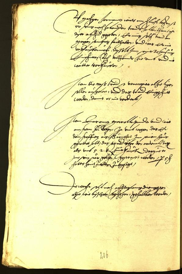 Civic Archives of Bozen-Bolzano - BOhisto Minutes of the council 1540