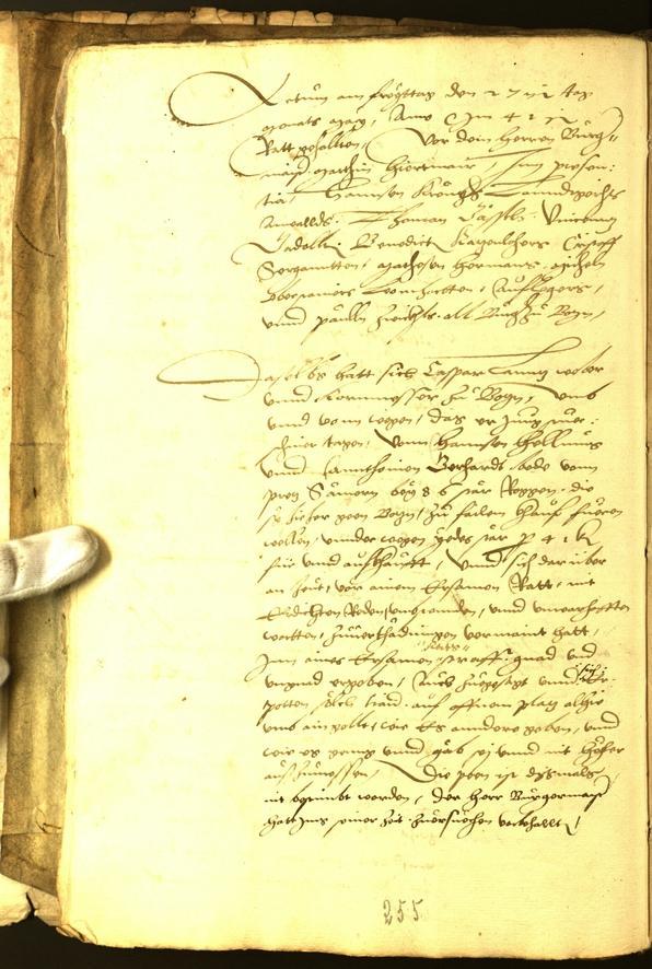 Civic Archives of Bozen-Bolzano - BOhisto Minutes of the council 1541