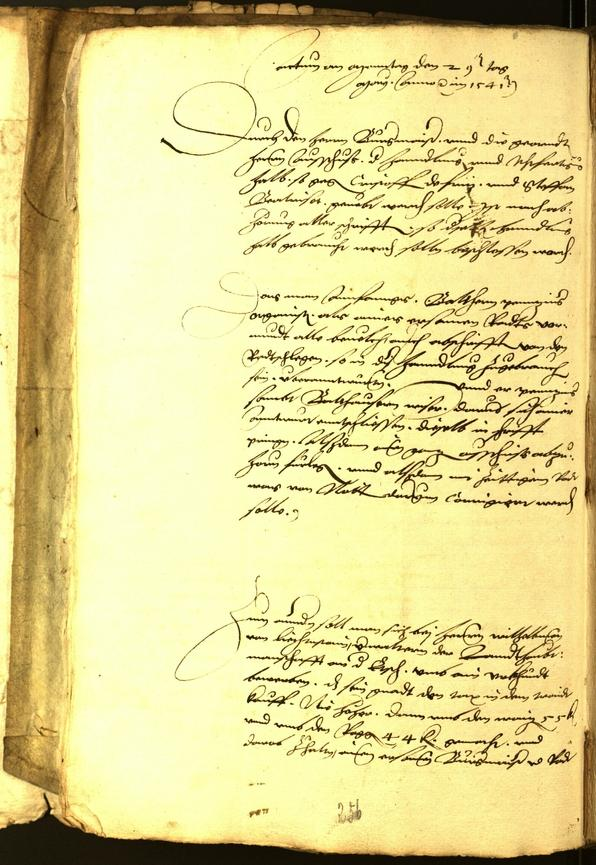 Archivio Storico della Città di Bolzano - BOhisto protocollo consiliare 1541
