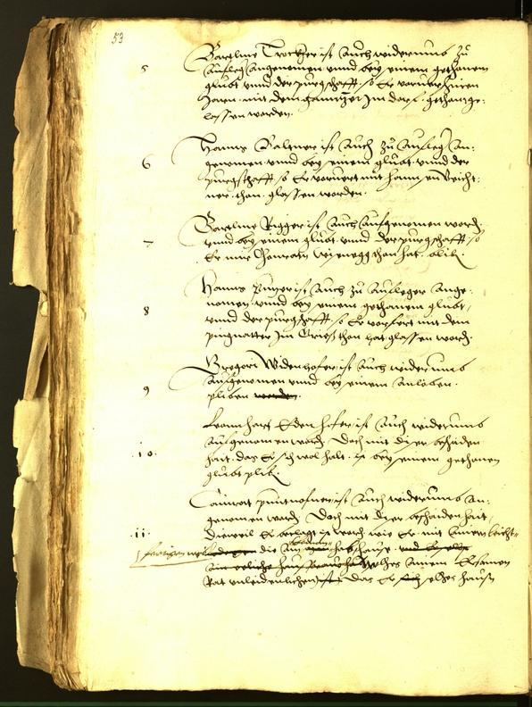 Archivio Storico della Città di Bolzano - BOhisto protocollo consiliare 1542