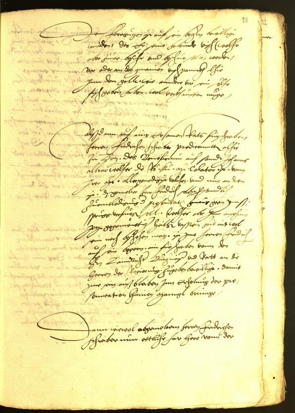 Stadtarchiv Bozen - BOhisto Ratsprotokoll 1542