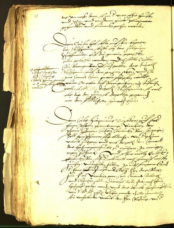 Civic Archives of Bozen-Bolzano - BOhisto Minutes of the council 1542
