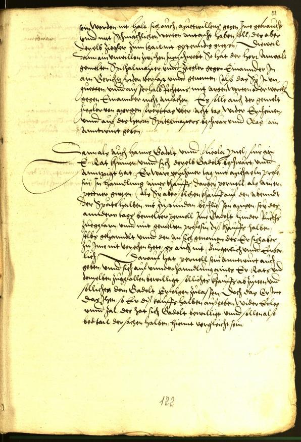 Stadtarchiv Bozen - BOhisto Ratsprotokoll 1543