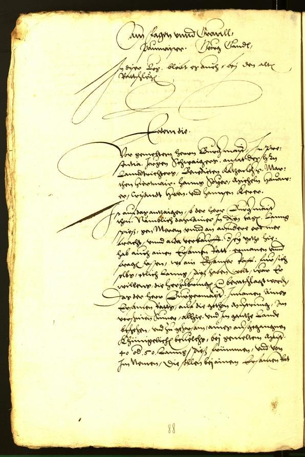 Archivio Storico della Città di Bolzano - BOhisto protocollo consiliare 1543