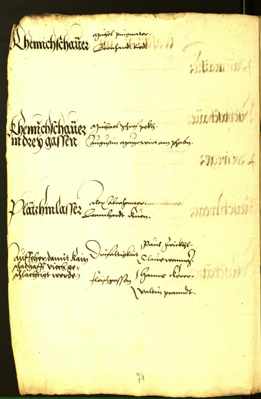 Civic Archives of Bozen-Bolzano - BOhisto Minutes of the council 1543