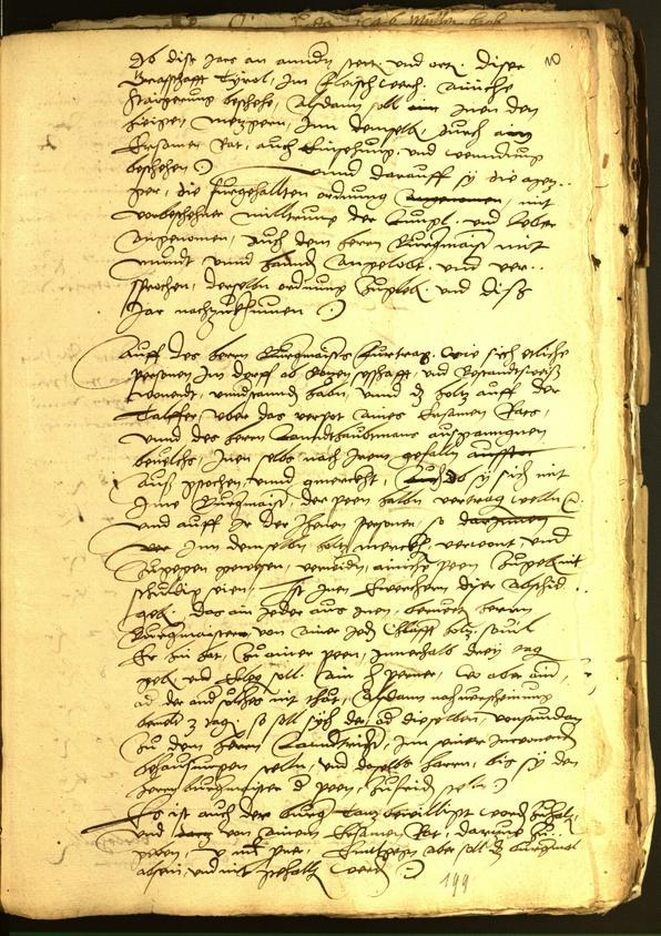 Archivio Storico della Città di Bolzano - BOhisto protocollo consiliare 1546