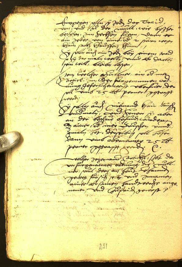Stadtarchiv Bozen - BOhisto Ratsprotokoll 1547