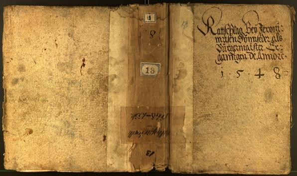 Civic Archives of Bozen-Bolzano - BOhisto Minutes of the council 1548