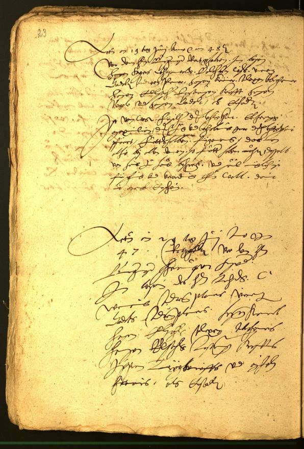 Stadtarchiv Bozen - BOhisto Ratsprotokoll 1548