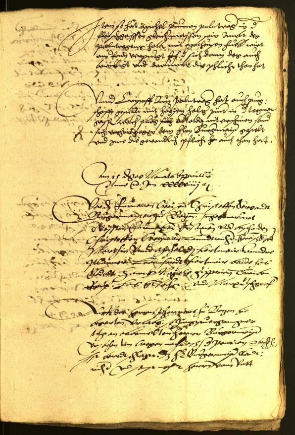 Civic Archives of Bozen-Bolzano - BOhisto Minutes of the council 1551
