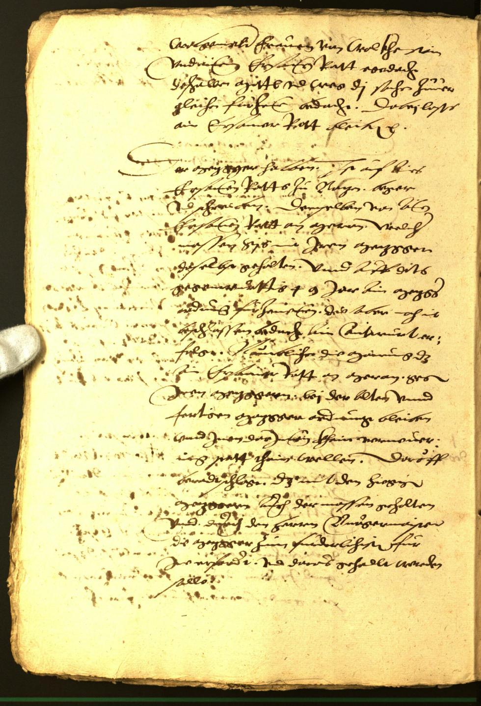 Stadtarchiv Bozen - BOhisto Ratsprotokoll 1551