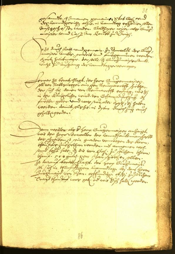 Archivio Storico della Città di Bolzano - BOhisto protocollo consiliare 1552