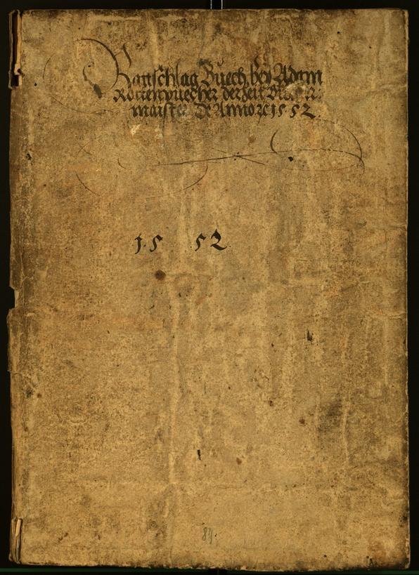Civic Archives of Bozen-Bolzano - BOhisto Minutes of the council 1554
