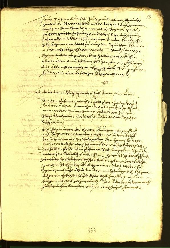 Archivio Storico della Città di Bolzano - BOhisto protocollo consiliare 1556