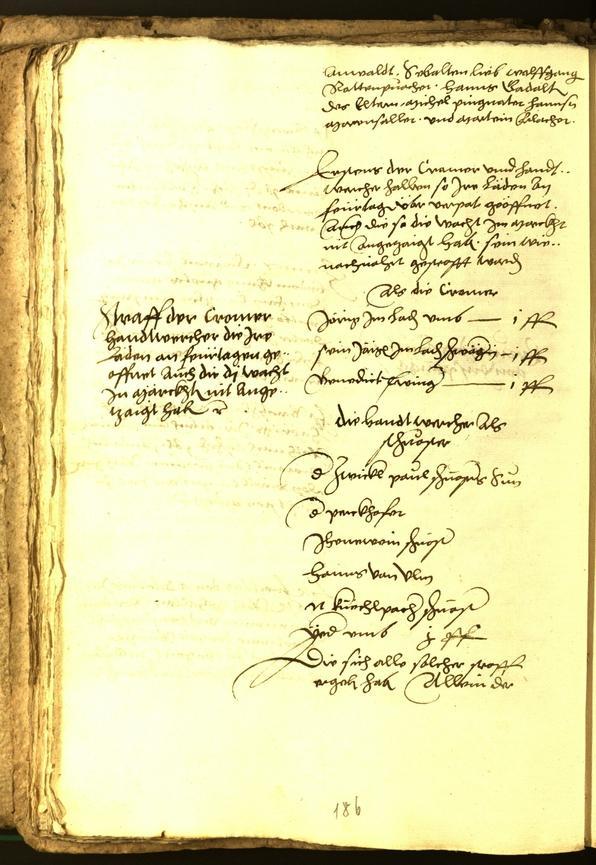 Civic Archives of Bozen-Bolzano - BOhisto Minutes of the council 1556