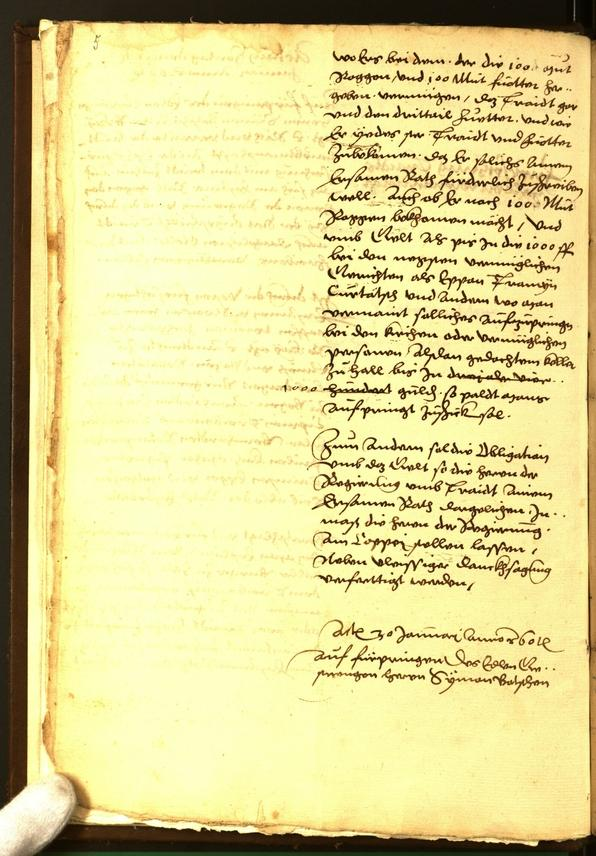 Civic Archives of Bozen-Bolzano - BOhisto Minutes of the council 1560