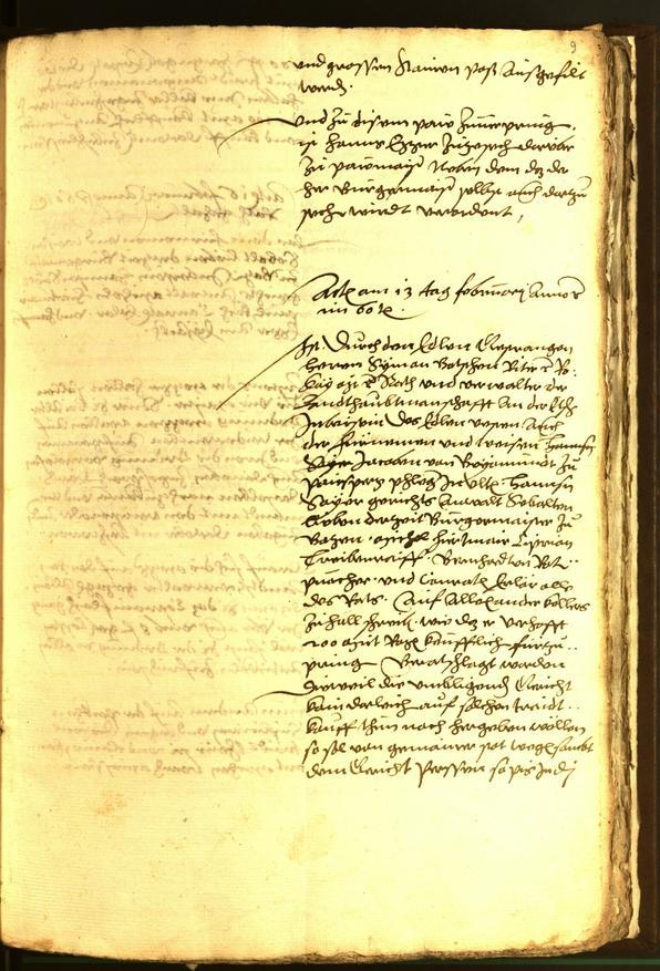 Archivio Storico della Città di Bolzano - BOhisto protocollo consiliare 1560