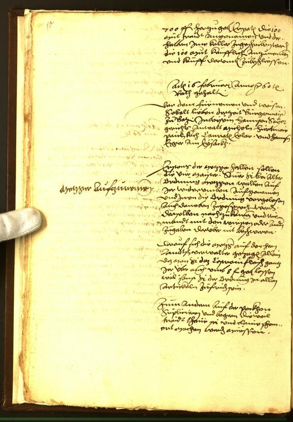 Civic Archives of Bozen-Bolzano - BOhisto Minutes of the council 1560