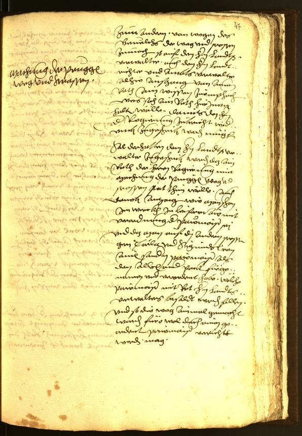 Stadtarchiv Bozen - BOhisto Ratsprotokoll 1560