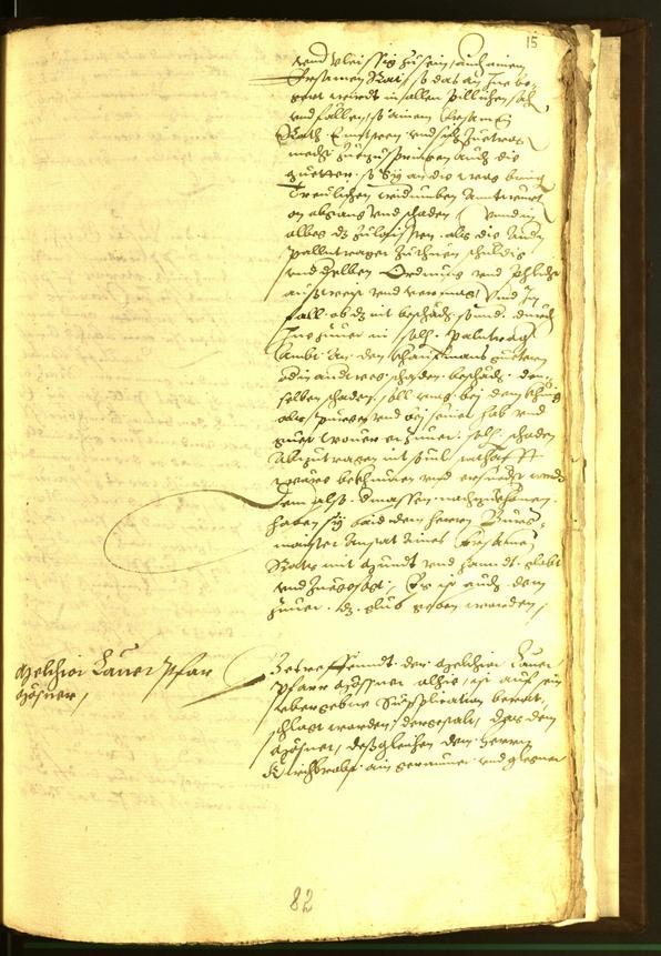Archivio Storico della Città di Bolzano - BOhisto protocollo consiliare 1562