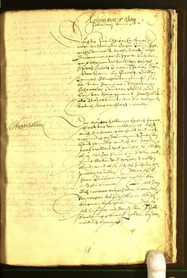 Civic Archives of Bozen-Bolzano - BOhisto Minutes of the council 1562