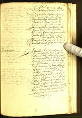Archivio Storico della Città di Bolzano - BOhisto protocollo consiliare 1562 -